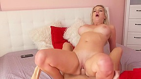 Skinny girl gives redneck blowjob