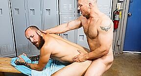 Ebony gay blow job