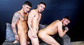 Gay naked men kissing