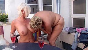 Lesbian licking tits videos