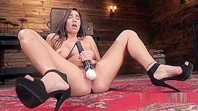 Brunette teasing teen porn tube