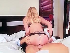 Big blond fucking big cock