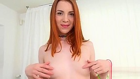Free red head rubbing pussy mpeg