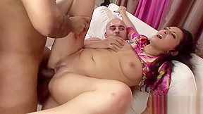 Black with white anal