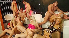 Lace strip club hand job
