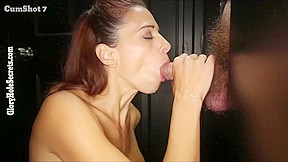 Perfect girls blowjob surprise