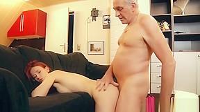 Hot girl fucks dad