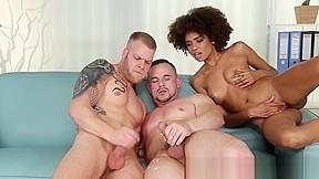 Ebony big cock tranny