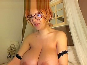 Beautiful redhead bbw loves to fuck