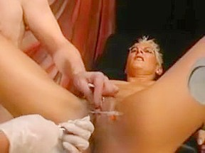 Mature woman with young boy video