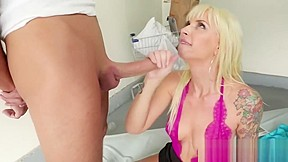 Hot mature and blonde