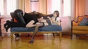Girl fucking dog knotted