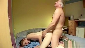 Young boy mature mom video