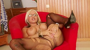Blonde forced to fuck 10 men