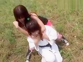 Huge tits japanese lesbians