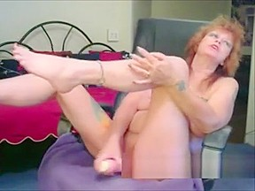 Girls with pussy toys