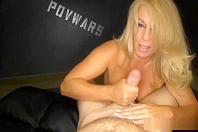 Mature couple blow job