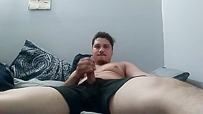 Boy watches mature masturbate