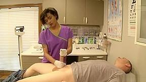 Massage room black girls