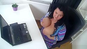Busty MILF loves hard cock