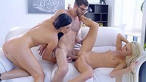 Dicks on big tits