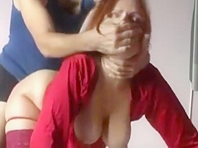 Redtube red hair with bog tits