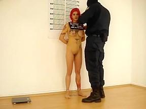Big natural tits bondage