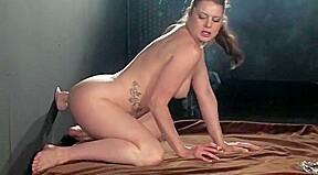 Black big tit bondage
