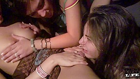 Gangbang nasty painfully sex