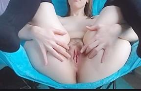 Porn hairy dildo pussy masturbate