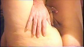 Bbw hard anal fucking gape woman