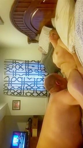 Big tits amateur blow