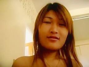 Asian girl creampie and facial