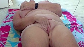 Two milf young shower