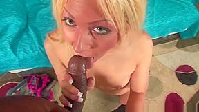 Big ass blonde pussy