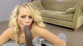 Blond german girl blowjob