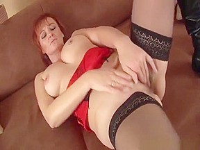 Crushed strangled tied tits