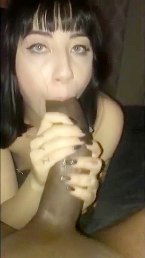 Teen blow job cum suprise