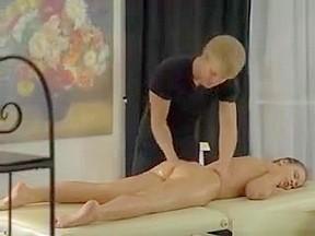 Man satisfies herself in ass