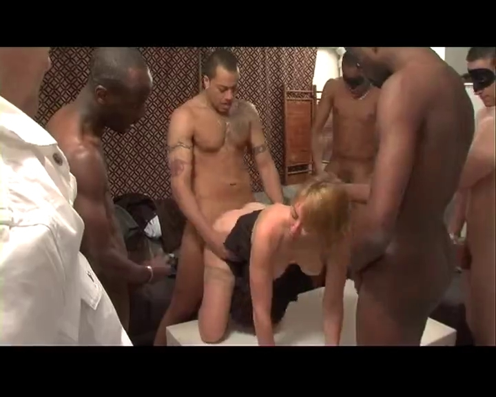Big Black Cock Gang Bang