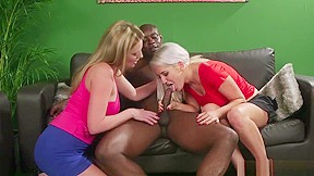 Black girl fucks white dick