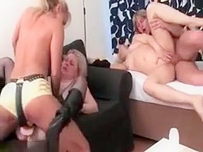 Hot lesbian babe orgy