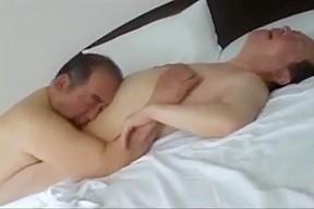 Gay chubby bear nipple