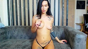 Hot asian girl nude video