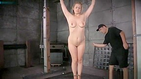 tied beauty Winnie ass caning perfectly