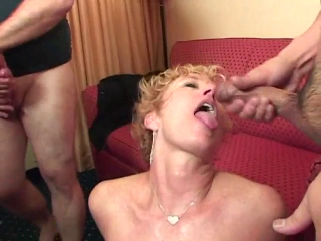 Forty plus #78 first time gangbang milfs