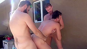 Gay men chest men nipple
