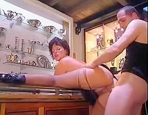 Extreme ebony anal prolapse sucking