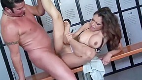 Teasing experienced female