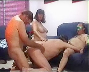 Bisexual interacial thresome fucking